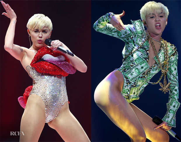 Miley Cyrus' The Blonds 'Bangerz' Tour