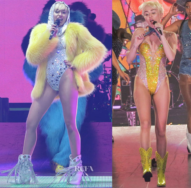 Miley Cyrus' The Blonds 'Bangerz' Tour2