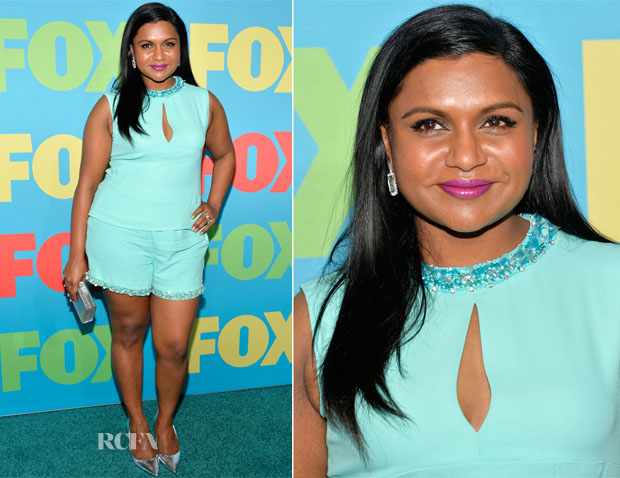 Mindy Kaling  In Miu Miu - FOX 2014 Programming Presentation