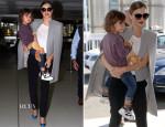 Miranda Kerr In Sass & Bide - Sydney Airport