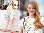 Mireille Enos In Dolce & Gabbana - 'Captives' Cannes Film Festival Photocall