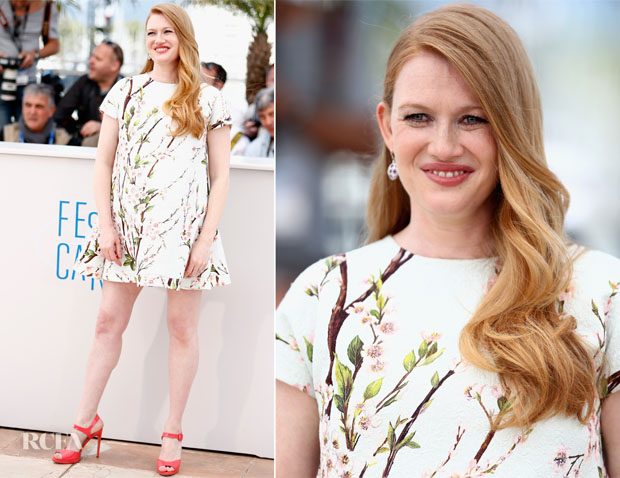 Mireille Enos In Dolce & Gabbana - 'Captives' Cannes Photocall