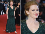 Mireille Enos In Jenny Packham -  'Captives' Cannes Film Festival Premiere