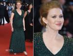 Mireille Enos In Jenny Packham -  'Captives' Cannes Film Festival Premiere