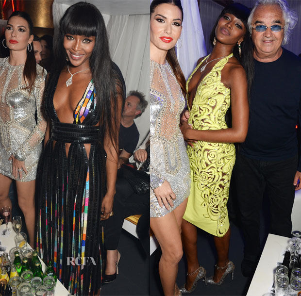 Naomi Campbell In Givenchy & Versace - Naomi Campbell's 44th Birthday Party