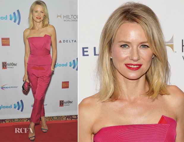 Naomi Watts In Roland Mouret - 25th Annual GLAAD Media Awards