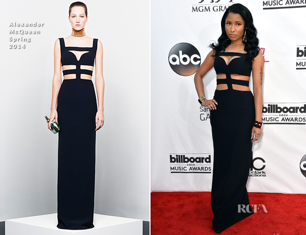 Nicki Minaj In Alexander McQueen - 2014 Billboard Music Awards