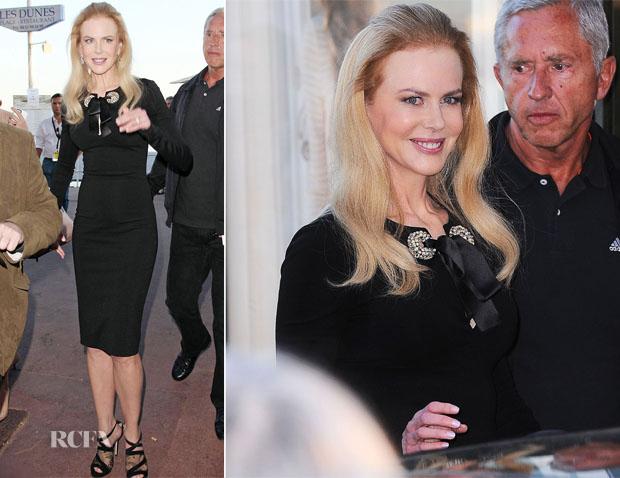 Nicole Kidman In Alexander McQueen - Canel+