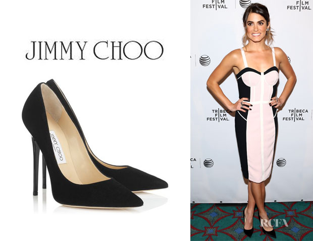 Nikki Reed's Jimmy Choo 'Anouk' Pumps