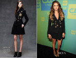 Nina Dobrev In Alberta Ferretti - The CW Network's 2014 Upfront