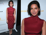 Olivia Munn In Georges Hobeika - 2014 Sports Spectacular Gala