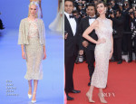 Paz Vega In Elie Saab Couture - 'Grace of Monaco' Cannes Film Festival Premiere & Opening Ceremony