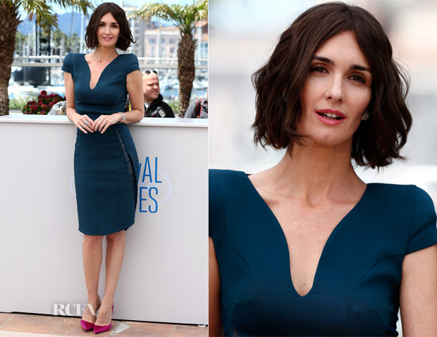 Paz Vega In Elie Saab - 'Grace of Monaco' Cannes Film Festival Photocall