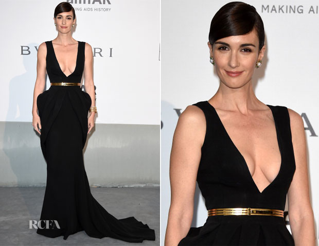 Paz Vega In Fitriani Couture - amfAR Cinema Against Aids Gala