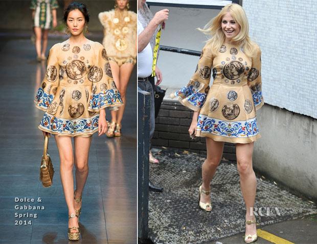 Pixie Lott In Dolce & Gabbana - ITV Studios