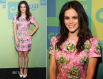 Rachel Bilson In Mary Katrantzou - The CW Network's 2014 Upfront