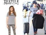 Rachel Bilson's TEXTILE Elizabeth and James 'Happy' Tee