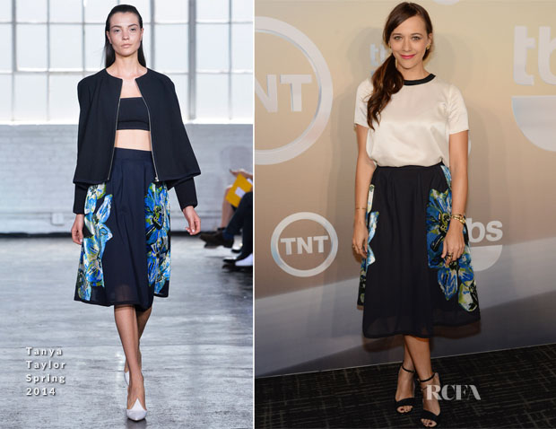 Rashida Jones In Tanya Taylor - TBS  TNT Upfront 2014