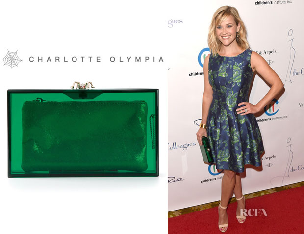 Reese Witherspoon's Charlotte Olympia 'Pandora' Clutch