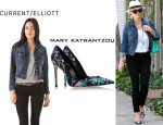 Reese Witherspoon's Current/Elliott 'The Snap' Jacket And Mary Katrantzou 'Lisa' Pumps