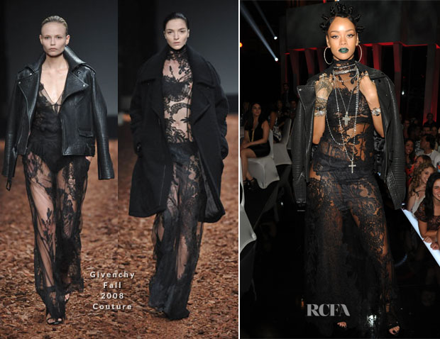 Rihanna In Givenchy Couture - 2014 iHeartRadio Music Awards