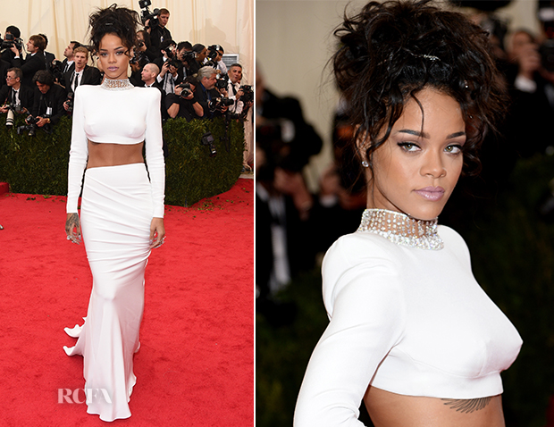 Rihanna In Stella McCartney - 2014 Met Gala
