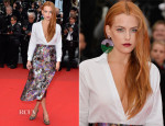Riley Keough In Valentino - 'Foxcatcher' Cannes Film Festival Premiere