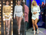 Rita Ora In Alexandre Vauthier Couture - 'The One Show'