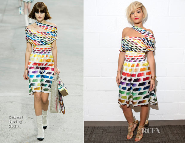 Rita Ora In Chanel - 106 & Park