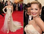 Rita Ora In Donna Karan Atelier - 2014 Met Gala