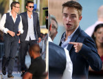 Robert Pattinson In Gucci - Le Grand Journal