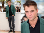 Robert Pattinson In Marni - 'The Rover' Cannes Film Festival Photocall