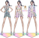 Roberto Cavalli Creates Katy Perry's 'Prismatic World Tour' Wardrobe