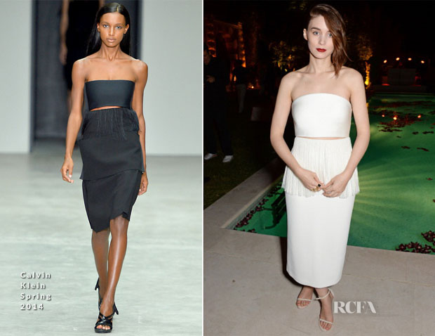 Rooney Mara In Calvin Klein Collection - Calvin Klein Celebrate Women In Film