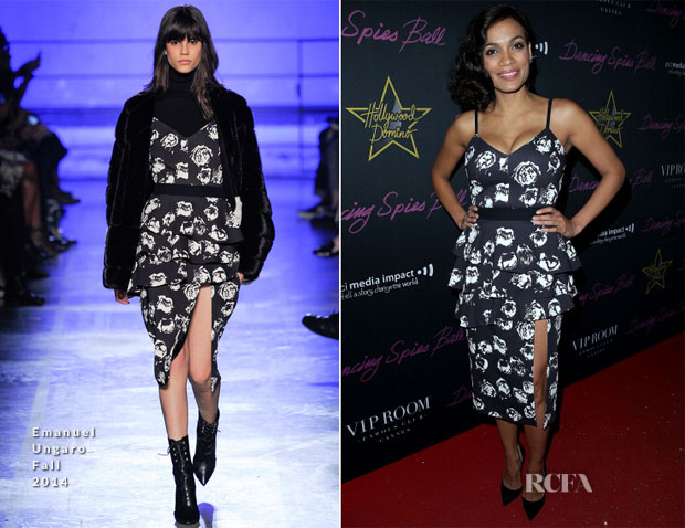Rosario Dawson In Emanuel Ungaro - Hollywood Domino Party