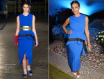 Rosario Dawson In Roksanda Ilincic - Puerto Azul Experience Night Welcome Party