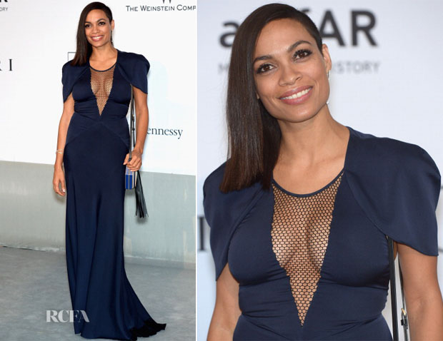 Rosario Dawson In Vionnet - amfAR Cinema Against Aids Gala