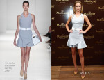 Rosie Huntington-Whiteley In Victoria Beckham -  25th Anniversary Magnum Short Film Launch