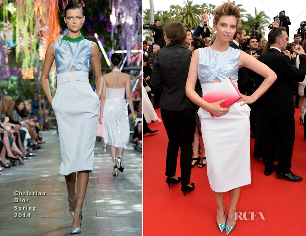 Ruth Crilly In Christian Dior - 'The Search' Cannes Film Festival Premiere