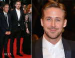 Ryan Gosling In Gucci - 'Lost River' Cannes Film Festival Premiere