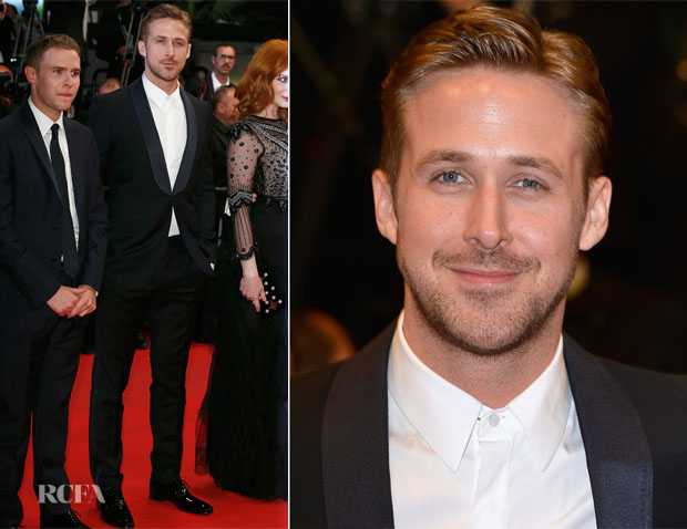 Ryan Gosling In Salvatore Ferragamo - 'Lost River' Cannes Film Festival Premiere