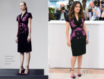 Salma Hayek In Bottega Veneta - 'Hommage Au Cinema D'Animation' Cannes Film Festival Photocall