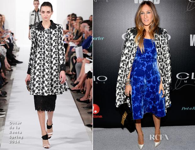 Sarah Jessica Parker In Oscar de la Renta - 2014 CLIO Image Awards
