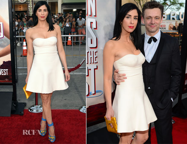 Sarah Silverman In Prada - 'A Million Ways To Die In The West' LA Premiere