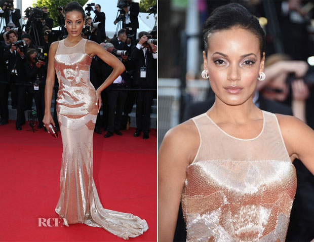 Selita Ebanks In Gabriela Cadena - 'Two Days, One Night'  ('Deux Jours, Une Nuit') Cannes Film Festival Premiere