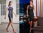 Shailene Woodley In Antonio Berardi - Jimmy Kimmel Live