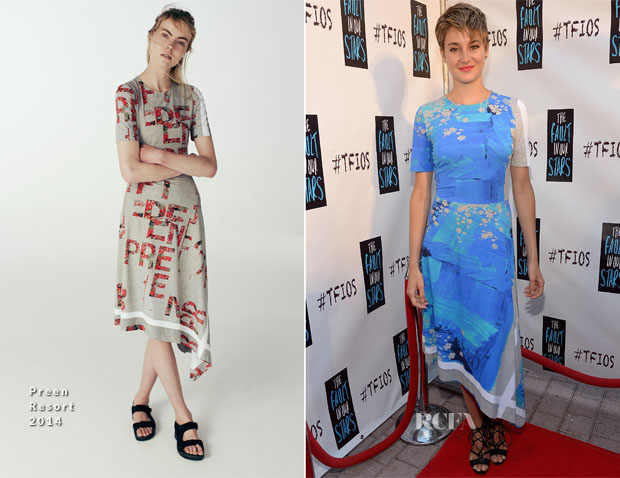 Shailene Woodley In Preen - 'The Fault In Our Stars' Miami Fan Event
