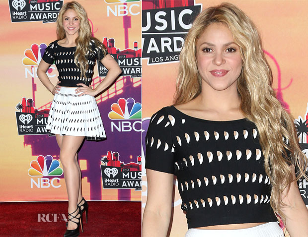 Shakira In Azzedine Alaia -  2014 iHeartRadio Music Awards