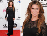 Shania Twain In Roberto Cavalli - 2014 Billboard Music Awards