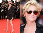Sharon Stone In Emilio Pucci - 'The Search' Cannes Film Festival Premiere